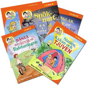 De fem böckerna om Slatten och Kakan!