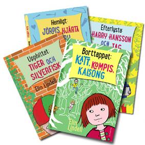 Fyra pinsamma böcker om Jördis